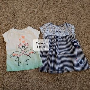 🧡5 FOR $15🧡CARTER'S 6MTH BUNDLE
